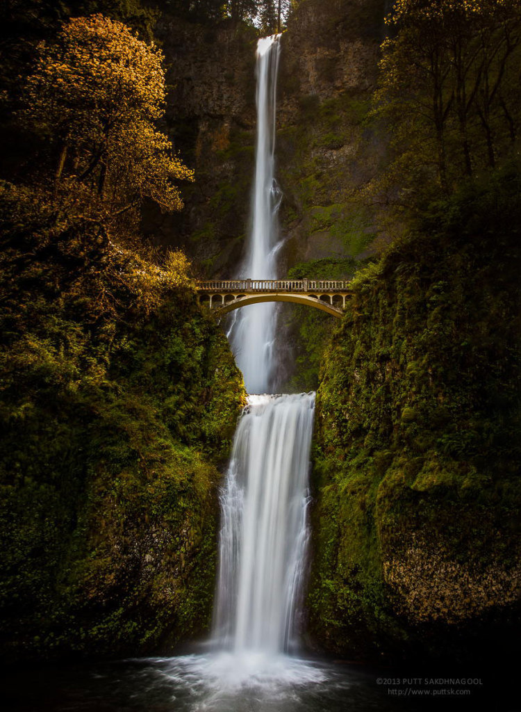 #12 Multnomah Falls, Oregon, Usa