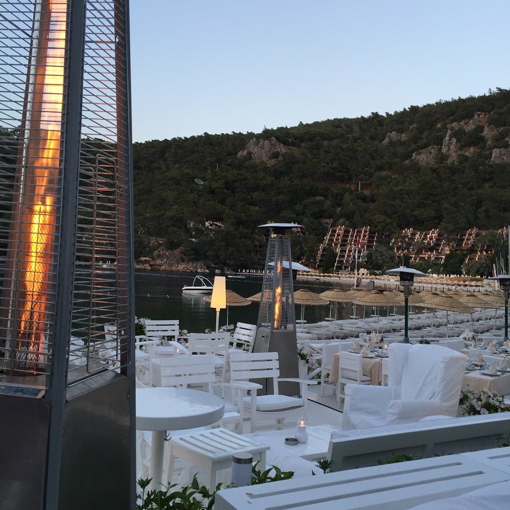Fethiye Hillside Beach Club a la carte restaurant manzara