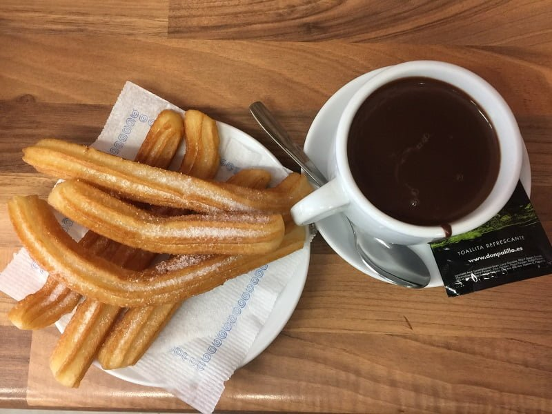 churros xurros Barselona